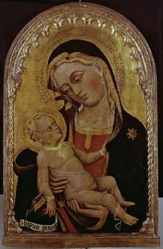 Lippo di Dalmasio (1355-1410) -  Madonna col Bambino - 1375-1410 - Collezione privata, Bologna