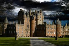 Glamis Castle is situated beside the village of Glamis in Angus, Scotland. It is the home of the Earl and Countess of Strathmore.