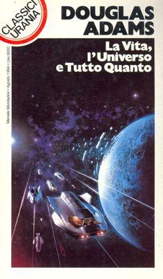 209  LA VITA, L'UNIVERSO E TUTTO QUANTO 8/1994  LIFE, THE UNIVERSE AND EVERYTHING (1982)  Copertina di  Marco Patrito   DOUGLAS ADAMS