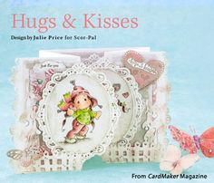 Hugs & Kisses from the Winter 2015 issue of CardMaker Magazine. Order a digital copy here: https://www.anniescatalog.com/detail.html?prod_id=127955