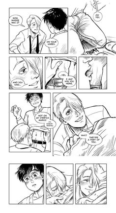 """mar (a bzz-y bee ) on Twitter: """"@bbt_yoi you are. my favourite yoi artist. theres litrlly nothign better than this."""""""