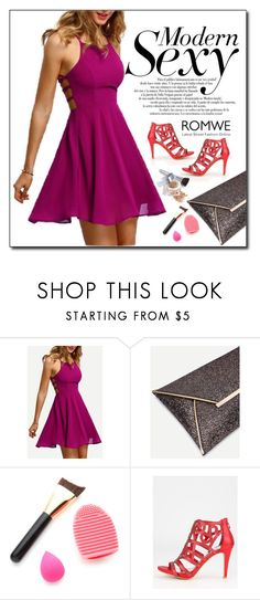 """ROMWE 1"" by woman-1979 ❤ liked on Polyvore featuring Christian Dior"
