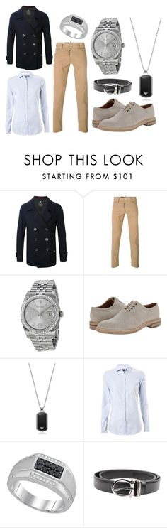 """""""Men's Chic"""" by demijay on Polyvore featuring Dsquared2, Rolex, Paul Smith, Emporio Armani, Tommy Hilfiger, Montblanc, women's clothing, women, female and woman"""