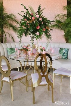 Courtesy of Wedluxe Luv luv luv these chairs