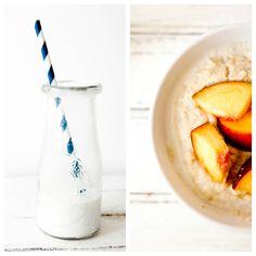 """Coconut Flour Peaches n Cream """"Oatmeal"""""""