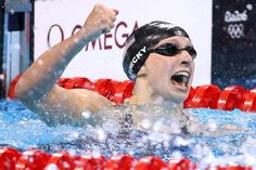 Katie Ledecky Wins Gold in 400-Meter Freestyle at the Rio Olympics - WSJ