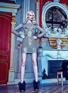 Horse Magazine January 2015 | Sofya Titova | Greg Swales Horse Magazine, Zuhair Murad, Style Icons, Editorial Fashion, High Fashion, Bodycon Dress, Horses, January, Campaign