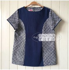 Blouse Batik, Batik Dress, Kurta Designs, Blouse Designs, Batik Kebaya, Batik Pattern, Batik Fashion, African Fashion Dresses, Simple Dresses
