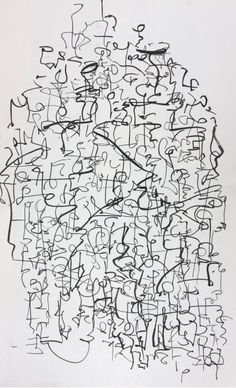 Asemic Writing (1978-83) from Cecil Touchon