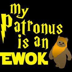 My Patronus is an Ewok (SO true!!)