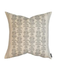 Demi Floral Stripe Pillow Cover – McGee & Co.