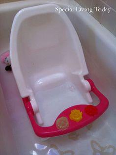 Dream on Me Ultra 2-in-1 Infant Bath Tub & Toddler Bath Seat