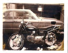 My 1963 Ford Falcon and bike