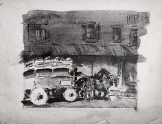 Horse Trolley, New York City  George Luks (American, Williamsport, Pennsylvania 1866–1933 New York City)