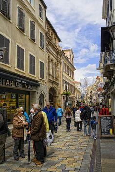 Main Street, Gibraltar, UK