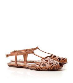 Alexa Flat Sandal | Womens Flats | ToryBurch.com