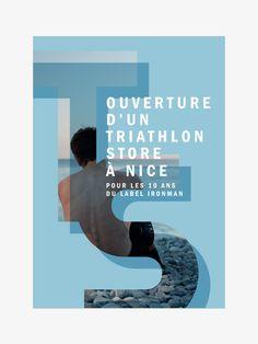 Dossier de Presse - Cover - Triathlon Store  - design by Les Athlètes