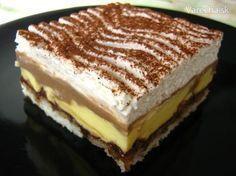 Tento recept obľubujú hlavne moje deti a vždy zmizne skoro z chladničky Slovak Recipes, Czech Recipes, Sweets Cake, Love Cake, Sweet And Salty, Desert Recipes, Graham Crackers, Amazing Cakes, Chocolate