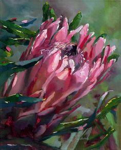 Artwork of Shaune Rogatschnig exhibited at Robertson Art Gallery. Original art of more than 60 top South African Artists - Since Protea Art, Shadow Art, Guache, Arte Popular, Diy Canvas Art, Abstract Flowers, Art Pictures, Creative Art, New Art