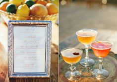 Have the bride and groom each feature their favorite cocktail for the reception; maybe even rename the drink to something more fun Lifetime Tables, Cocktail Menu, Sweetheart Table, May Flowers, April Showers, Summer Wedding, Wedding App, Wedding Season, Wedding Inspiration