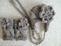 Baby Girl Leg Warmers and Hat Set.  via Etsy. LOVE this!