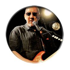 ONLY ONE The Who Pete Townsend 2-1/4 Inch Button