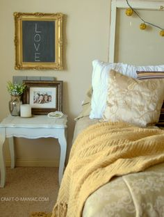 Gold Bedroom Decor
