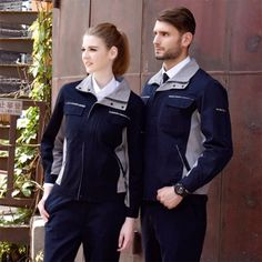 Work Overalls, Overalls Women, Work Uniforms, Welding Machine, Human Resources, Men And Women, Outfit Sets, Work Wear, Leather Jacket