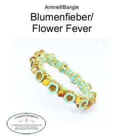 Návody   G&B beads Friendship Bracelets, Bangles, Flowers, Jewelry, Bangle Bracelet, Bracelets, Jewlery, Jewerly, Schmuck
