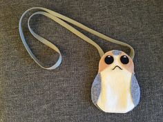 Porg pouches to take everywhere. Star Wars The Last Jedi can't arrive soon enough!