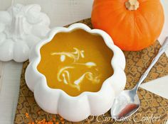 Curry and Comfort: Curried Pumpkin Lentil Soup