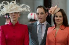 Lady Gabriella Windsor. Her Brother Lord Frederick Windsor & His Wife Sophie Winkleman.