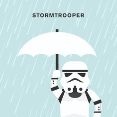 """Quirky Puns That Show Us The Funnier Side Of Life, Welcome To The Dark And Stormy Side """"Stormtrooper"""", by punnypixels, via BoredPanda"""