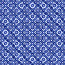Azulejo Tile Repeat_Bright Blue by Nicola Collins Seamless Repeat Royalty-Free Stock Pattern Pattern Design, Print Design, Blue China, Textile Prints, Design Trends, Print Patterns, Bright, Repeat, Royalty