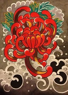 Furniture Haul Away Japanese Flower Tattoo, Japanese Tattoo Designs, Japanese Flowers, Flower Tattoo Designs, Flower Tattoos, Japanese Drawings, Japanese Artwork, Flor Oriental Tattoo, Japanese Floral Design