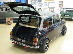 CPF from rear with hatch open Mini Paceman, Mini Clubman, Mini Cooper S, Classic Mini, Classic Cars, Coach Builders, Minis, Jeep Cars, Unique Cars