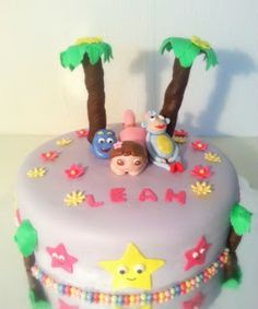 Dora The Explorer cake - birthday cake