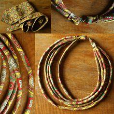 MEHEHEHE - necklace made of tie | naszyjnik z krawata