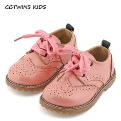Nice CCTWINS KIDS 2017 spring autumn child pink flat genuine leather toddler fashion shoe baby girl brand loafer oxford white G9771 - $ - Buy it Now!