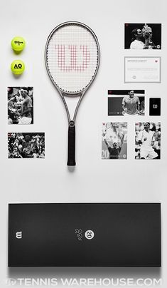 7b4d0e15ef2 Wilson RF 20th Grand Slam Platinum Edition Racket. Tennis WarehouseRacketsSlammedThe  Collector
