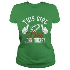 Cool John Thierry Patrick's Day Irish Shamrock T-Shirts