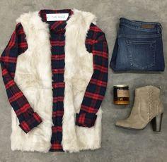 Cream De La Cream Vest