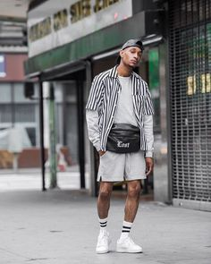 Summer Swag Outfits, Short Outfits, Summer Outfit, Beastie Boys, Men Looks, Mode Hip Hop, Moda Blog, Casual Wear For Men, Next Clothes