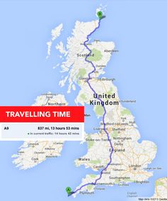 We miss how close everything is. It takes NO TIME to drive from Land's End to John O'Groats. | 18 Things You Will Miss If You're A Brit In America