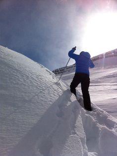 Snowshoe, love this sport :)