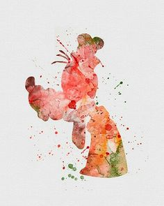 Watercolor - Pippo