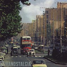 Valiasr Street in 1970s. ( a nostalgic view for all tehruners like me) (Persian: ولی عصر ‎) is a tree-lined street in Tehran, Iran, dividing the metropolis into western and eastern parts. It is considered one of Tehran's main thoroughfares and commercial centres. It is also the longest street in the Middle East, and was reported as one of the longest in the world by former BBC (now Al Jazeera) journalist Rageh Omaar during the television documentary Welcome to Tehran.