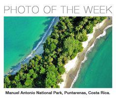 Jungle view of Quepos, Manuel Antonio National Park, Puntarenas, Costa Rica. #travel #costarica