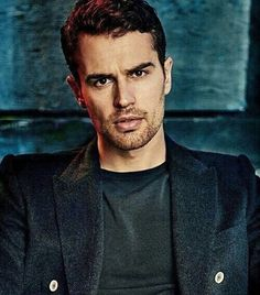 Mm. Sexy man. How's your day going? #theojamesfans -- #theojames #divergent #dauntless #tobiaseaton #four #insurgent #instagood #picoftheday #shailenewoodley #fandom #fourtris #allegiant