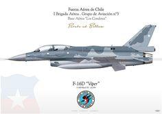 """Chile F-16D """"Viper"""" Fuerza Aérea de Chile"""